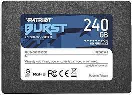 SSD 240GB Patriot Burst Elite