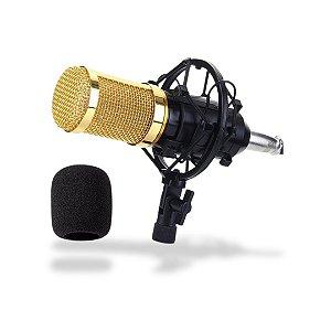 Kit Microfone Condensador LELONG LE914