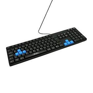 TECLADO USB KP-2044 NKUP