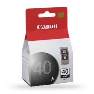CARTUCHO CANON 40 PRETO 16ML