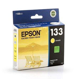 Cartucho EPSON 133 Amarelo