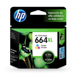 Cartucho HP 664XL COLOR 8ML