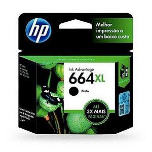 Cartucho HP 664XL Preto 8,5ML