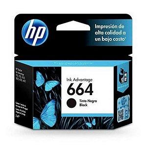 Cartucho HP 664 Preto 2ml