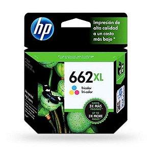 Cartucho HP 662XL COLOR 8ml