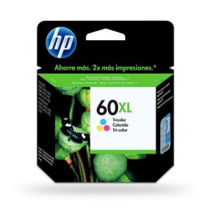 Cartucho HP 60XL COLOR