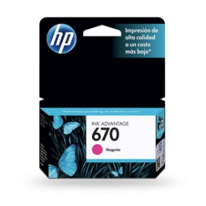 CARTUCHO HP 670 MAGENTA 4ML