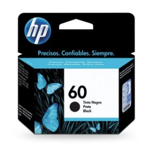 Cartucho HP 60 Preto