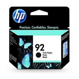 Cartucho HP 92 Preto 5,5ML