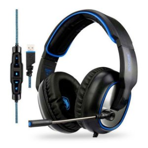 HEADSET GAMER SADES R7
