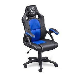 Cadeira Gamer PCYes Mad Racer V6 Azul