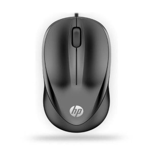 Mouse Optico Preto HP 1000 USB
