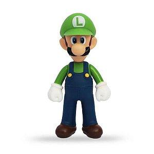 Boneco Borracha Luigi Nintendo