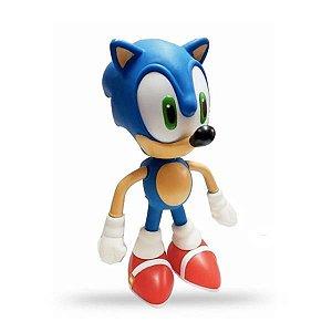 Boneco Borracha Sonic Nintendo