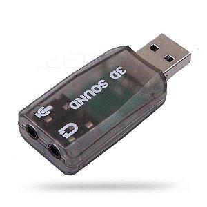 Adaptador Placa de Som Sound AudioController