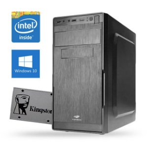 Computador com SSD 120Gb, Dual Core, 2Gb RAM, Windows 10