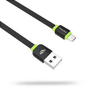 Cabo Micro USB V8 1M C3 Tech CB-100BK