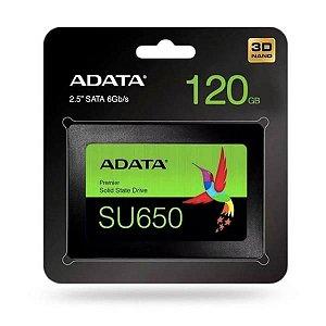SSD 120Gb Sata 2.5 Adata SU650