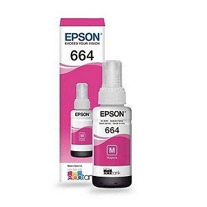 Refil de Tinta EPSON 664 Magenta 70ml