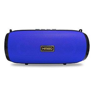 Caixa de Som Bluetooth Azul KIMISO KM-201