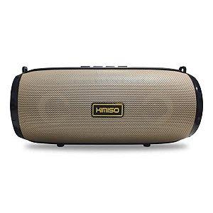 Caixa de Som Bluetooth Bege KIMISO KM-201