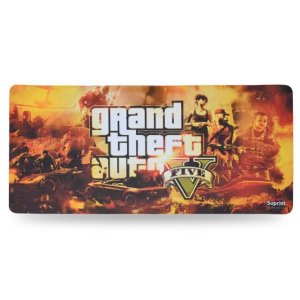 Mouse Pad Gamer GTA V 320mm x 650mm Suprint Informática