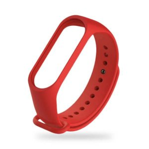 Pulseira MI Band 3/4 Silicone Vermelha