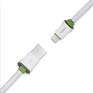 Cabo USB Tipo C 3M Kaidi KD-330C