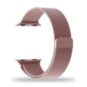 Pulseira Apple Watch 42mm Metal Rosê