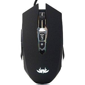 Mouse Gamer USB RGB 6400 DPI Knup KP-V44