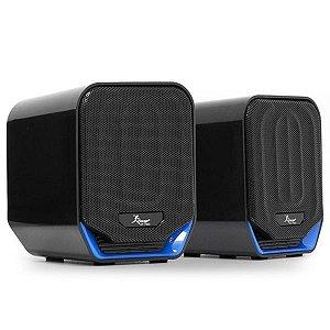 Caixa De Som Mini Altofalante Para PC Knup KP-7032