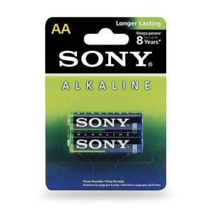 Pilha Alcalina AA 1.5V C/2 Sony AM3L-B2D