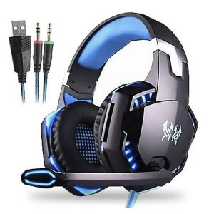 Headset Gamer Com Leds Para PC/PS4/Xbox One/N Switch Knup KP-455A