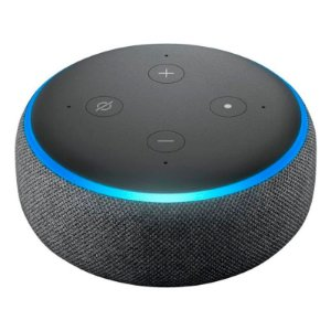 SPEAKER AMAZON ECHO DOT 3° GERAÇÃO COM ALEXA