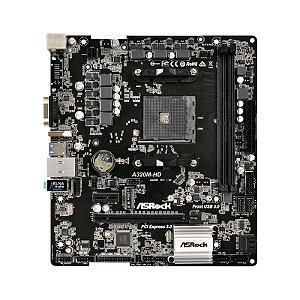 PLACA MÃE A320M-HD DDR4 SOCKET AM4 HDMI BOX ASROCK