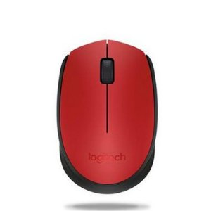 Mouse Sem Fio Logitech M170 Vermelho