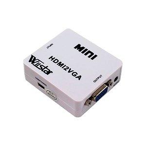 Conversor Vídeo HDMI2VGA/VGA2HDMI/AV2HDMI