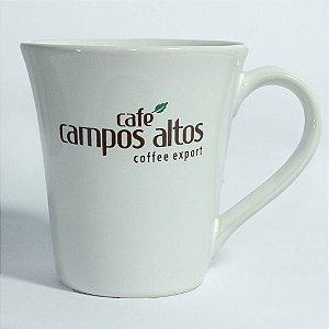 Caneca AVULSA branca Café Campos Altos Tulipa