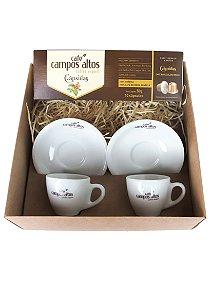Kit Espresso - Café Campos Altos Cápsulas e Duas Xícaras