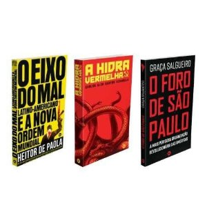 Biblioteca Observatório Latino - 3 livros