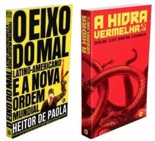 O Eixo Do Mal Latino-americano + A Hidra Vermelha - Dois livros