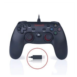 JOYSTICK REDRAGON SATURN G807 PARA PC 16 BOTÕES USB