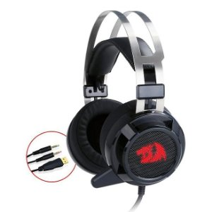 HEADSET PC SIREN H301 REDRAGON USB/P2 DRIVE 40MM