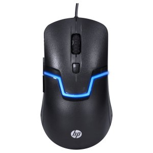 MOUSE HP M100S BLACK 3200DPI 6 BOTÕES LED 7 CORES