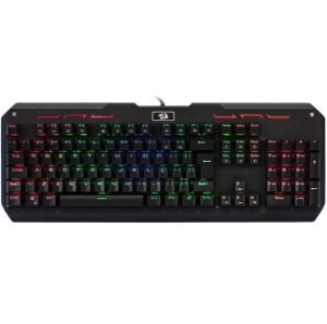 TECLADO MECÂNICO VARUNA GAMER REDRAGON ANTI GHOSTING RGB OUTEMU BLUE