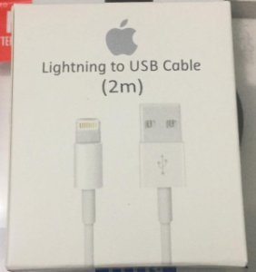 Apple Lightning to USB Charge 2m