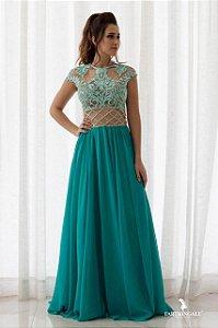 Vestido Blusa Cropped Bordado - Farthingale