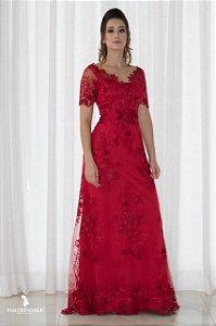 Vestido Renda Elie - Farthingale