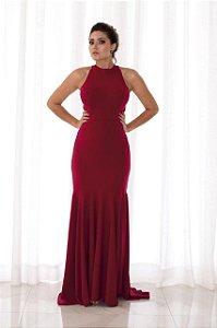 Vestido Gola Alta Ragan - Farthingale