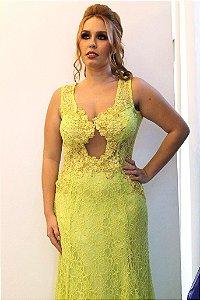Vestido Bico Alongado - Farthingale